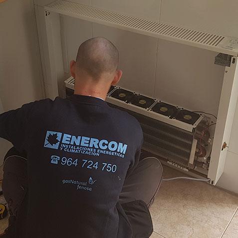 Instalación calefacción Castellón