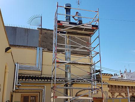 Instalación de gas Castellón exterior